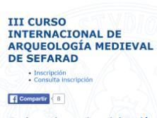 Profesorado de Escuni en el III Curso de Arqueología Medieval
