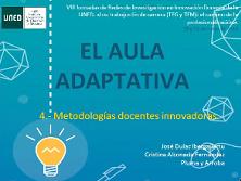 Investigación Aula Adaptativa #aulaadaptativa  #encuentropizarra