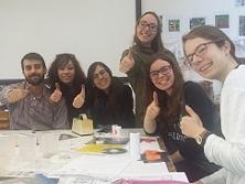 Estudiantes de Escuni en Winchester (Reino Unido)