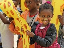 Fell Adwa. Exposición de dibujos niños de Etiopía