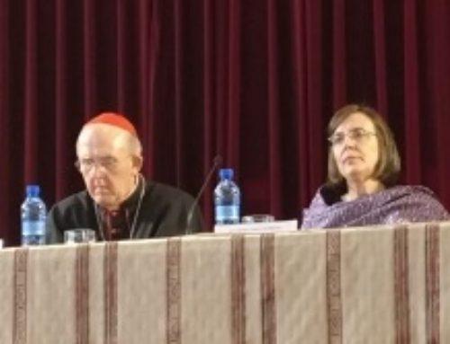 El cardenal arzobispo de Madrid D. Carlos Osoro en Escuni