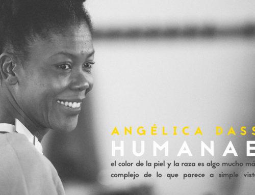 Angélica Dass, artista de prestigio mundial, visitaba Escuni