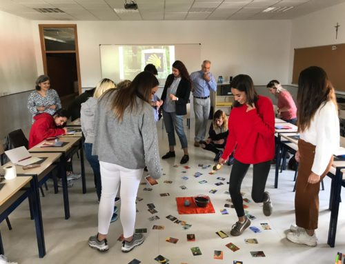 """""""Pedagogía del perdón y la reconciliación"""". Taller para estudiantes de Escuni impartido por la Fundación SM"""