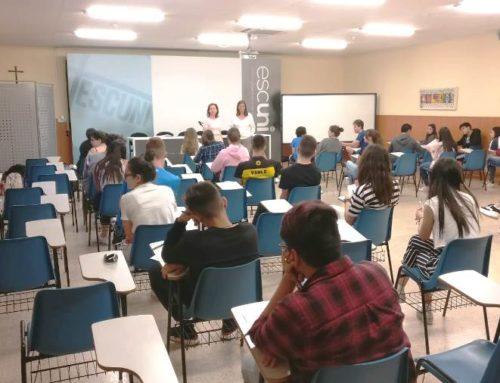 Ensayo pruebas de acceso a la universidad con el Colegio San Gabriel #SimilEvAU2019