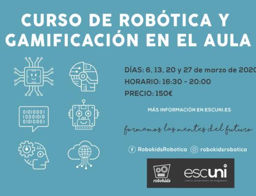 Curso: 'Robótica y Gamificación en el Aula'