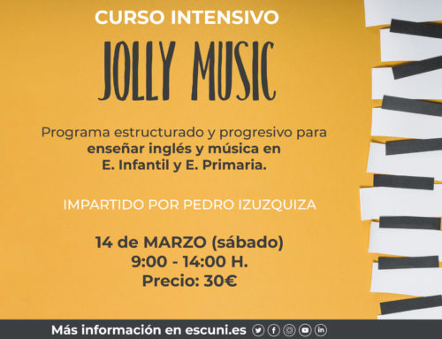 Curso intensivo: 'Jolly Music'