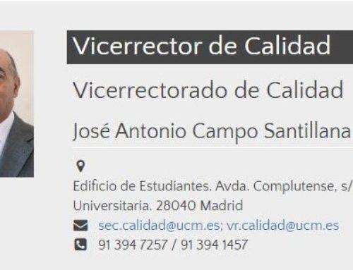 Fallece José Antonio Campo Santillana, vicerrector de Calidad de la Complutense